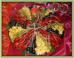 funtions and events fruit platter