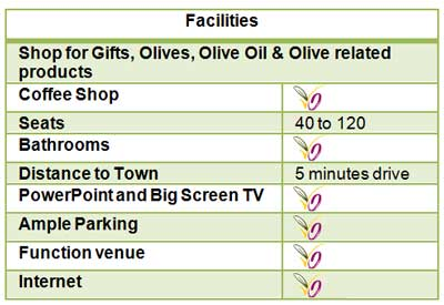 facilities for functions and events